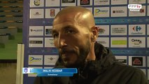 Interview de MALIK HEBBAR coach de la JA Drancy.