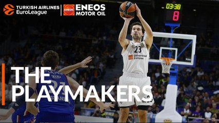 The ENEOS Playmaker: Sergio Llull, Real Madrid