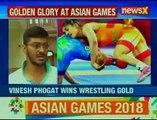 Asian Games 2018_ Vinesh Phogat wins Gold; Saurabh Chaudhary bags Gold
