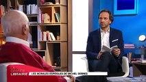 """""""La grande librairie"""" : La vibrante déclaration d'amour à l'Europe et à la Paix de Michel Serres"""