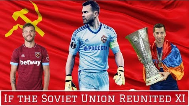 Reunified Soviet National Team Starting XI