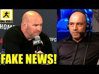 Dana White reacts to Joe Rogan saying Conor McGregor vs Cowboy is a done deal,Khabib,Ngannou