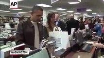 Barack Obama en train de faire ses courses comme simple citoyen!