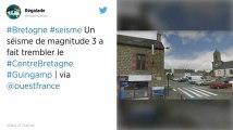 Un séisme de magnitude 3 a fait trembler le Centre-Bretagne