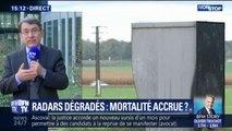 """""""60 vies auraient pu être épargnées"""": le délégué interministériel à la sécurité routière dénonce les casseurs de radars"""