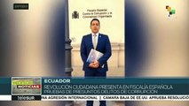 teleSUR noticias. Detienen a líderes mapuches en Chile