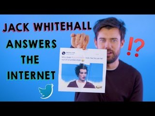 'I thought 1D would give me a call': Jack Whitehall answers the Internet's rhetorical questions!