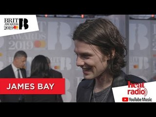 James Bay LOVES the BRIT Awards ❤️