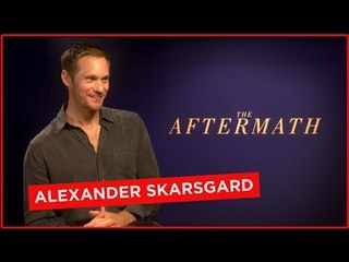 Alexander Skarsgard says he gets trashed and shares memories of university in Leeds
