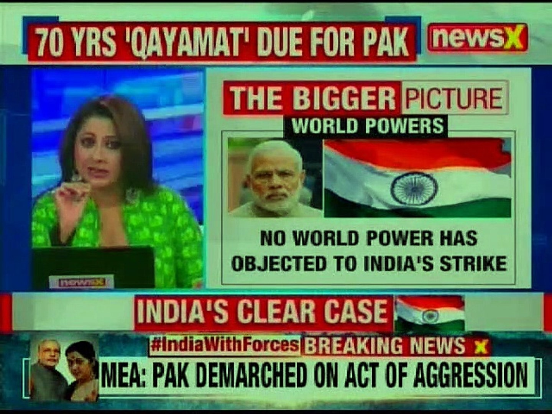 Pakistan Violates Indian Airspace: Pak airforce jet shot down; Indian pilot 'missing in action'