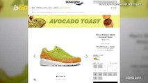 Holy Guacamole!! Shoe Company Creates Avocado Toast Sneakers