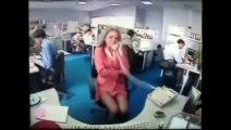 Pires reuactions de stress au travail - ordi, photocopieuse...