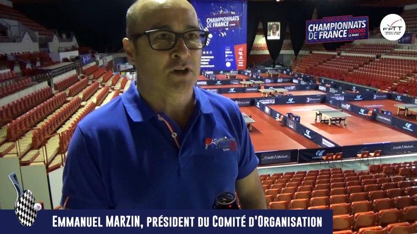 """Emmanuel Marzin : """" Montrer la plus belle image du tennis de table """""""