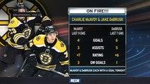 Jake DeBrusk, Charlie McAvoy On Fire Lately