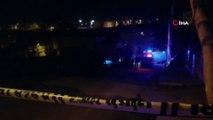 Seyir halindeki otomobile pompalı tüfekle ateş açıldı: 1 ağır yaralı
