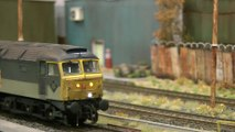British Model Trains at the Marshalling Yard or Classification Yard in OO Gauge | Pilentum Television - The world of model trains