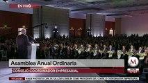 AMLO ofrece mensaje en Asamblea Anual Ordinaria