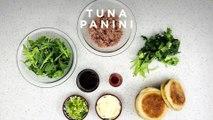 Tuna and Sun-dried Tomato Pesto Panini