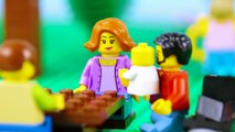 LEGO City Hot Dog STOP MOTION LEGO Hot Dog Stall Brick Building | LEGO City | By Billy Bricks