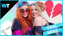 Actress Bella Thorne and YouTuber Tana Mongeau BROKE UP