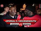 Arsenal 5-1 Bournemouth   That Was The Mkhitaryan We Saw At Dortmund! (Kenny Ken)