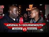 Arsenal 5-1 Bournemouth   Keep The Momentum Going & Start Ozil v Spurs!