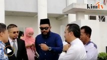 Papagomo tiba di mahkamah untuk pertuduhan kes babit Syed Saddiq