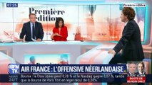 Air France: l'offensive néerlandaise