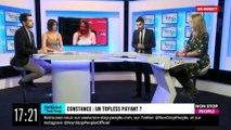 """EXCLU  - Furieuse d'être critiquée pour avoir montré ses seins sur France Inter, l'humoriste Constance quitte le plateau: """"Je vous emmerde ! """""""