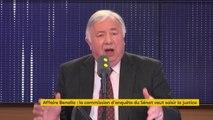 """Gérard Larcher sur l'affaire Benalla : """"Nous ne sommes pas là pour juger"""""""