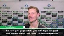 Transferts - De Jong : ''Les compliments de Griezmann sont très gratifiants''