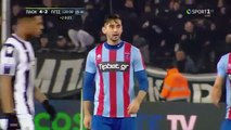 UNBELIEVABLE Panionios players refuse to have a kick-off in order to complain about a penalty - PAOK vs Panionios 27.02.2019