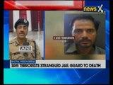Bhopal: 8 Simi terrorists strangled jail guard to death
