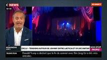 Johnny  Hallyday_ Le tour de chant de Sylvie Vartan interdit par Laeticia hallyday et Sébastien Farran ?