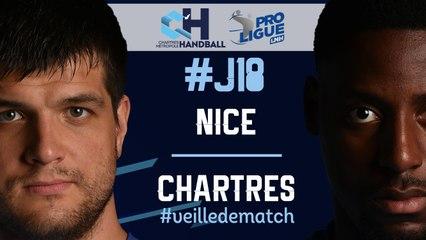 #J18 : NICE - CHARTRES #veilledematch