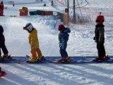 Mes débuts à ski!
