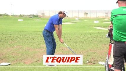 À l'entraînement avec Victor Dubuisson - GOLF - Tour européen