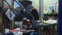 Initiative : des pièces automobiles recyclées en lampes