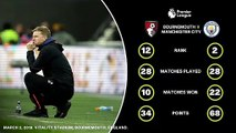 Feature: All the data ahead of Bournemouth against Manchester City