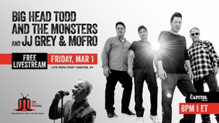 Big Head Todd and the Monsters + JJ Grey & Mofro :: 3/1/19 | 8PM ET :: The Capitol Theatre :: Sneak Peek
