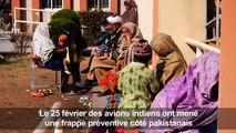 Des habitants du Cachemire pakistanais en fuite