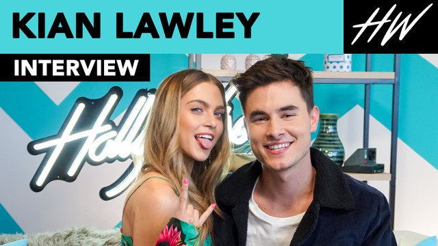Kian Lawley Plays Heads Up with Anne Winters & Talks Dating Friends on 'Zac and Mia' | Hollywire