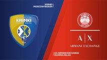 Khimki Moscow region - AX Armani Exchange Olimpia Milan Highlights | EuroLeague RS Round 24