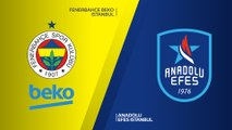 Fenerbahce Beko Istanbul - Anadolu Efes Istanbul Highlights   Turkish Airlines EuroLeague RS Round 24