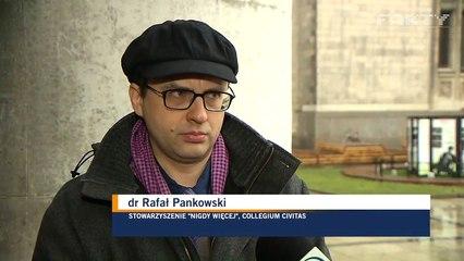 Rafał Pankowski z NIGDY WIĘCEJ o koncercie polskich neofaszystów w Londynie, 21.02.2019.