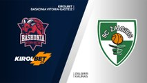 KIROLBET Baskonia Vitoria-Gasteiz - Zalgiris Kaunas Highlights   Turkish AirlinesEuroLeague RS Round 24