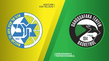 EuroLeague 2018-19 Highlights Regular Season Round 24 video: Maccabi 77-58 Darussafaka