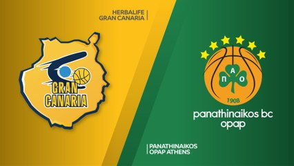 EuroLeague 2018-19 Highlights Regular Season Round 24 video: Gran Canaria 80-99 Panathinaikos