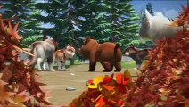 Tatonka | Une histoire à dormir debout | Dessin animé pour enfants | Documentaire Loups