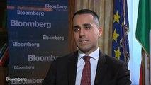 Italy's Di Maio Says Coalition Will Last Full Term